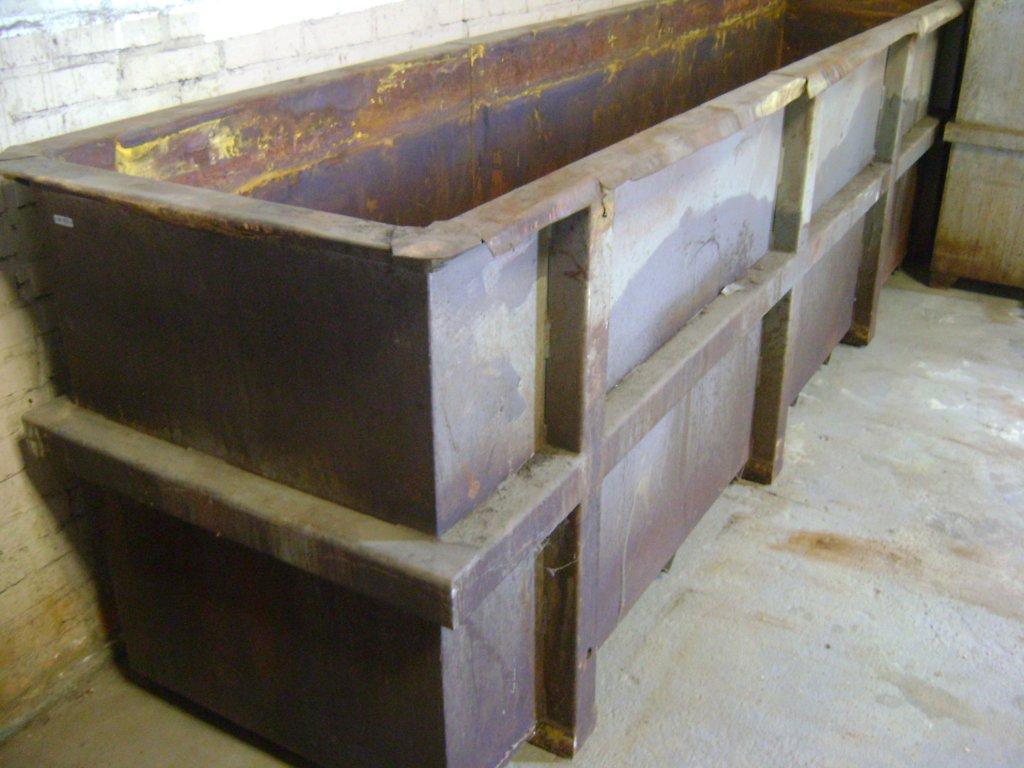 15996 – Tanque de aço revestido PVC 950 x 1150 x 4180 mm
