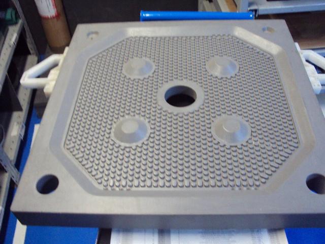 PLACA filtrante de 630X630mm para Filtro Prensa