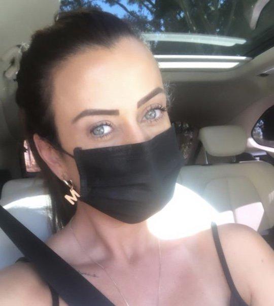 Máscara lavável dupla camada