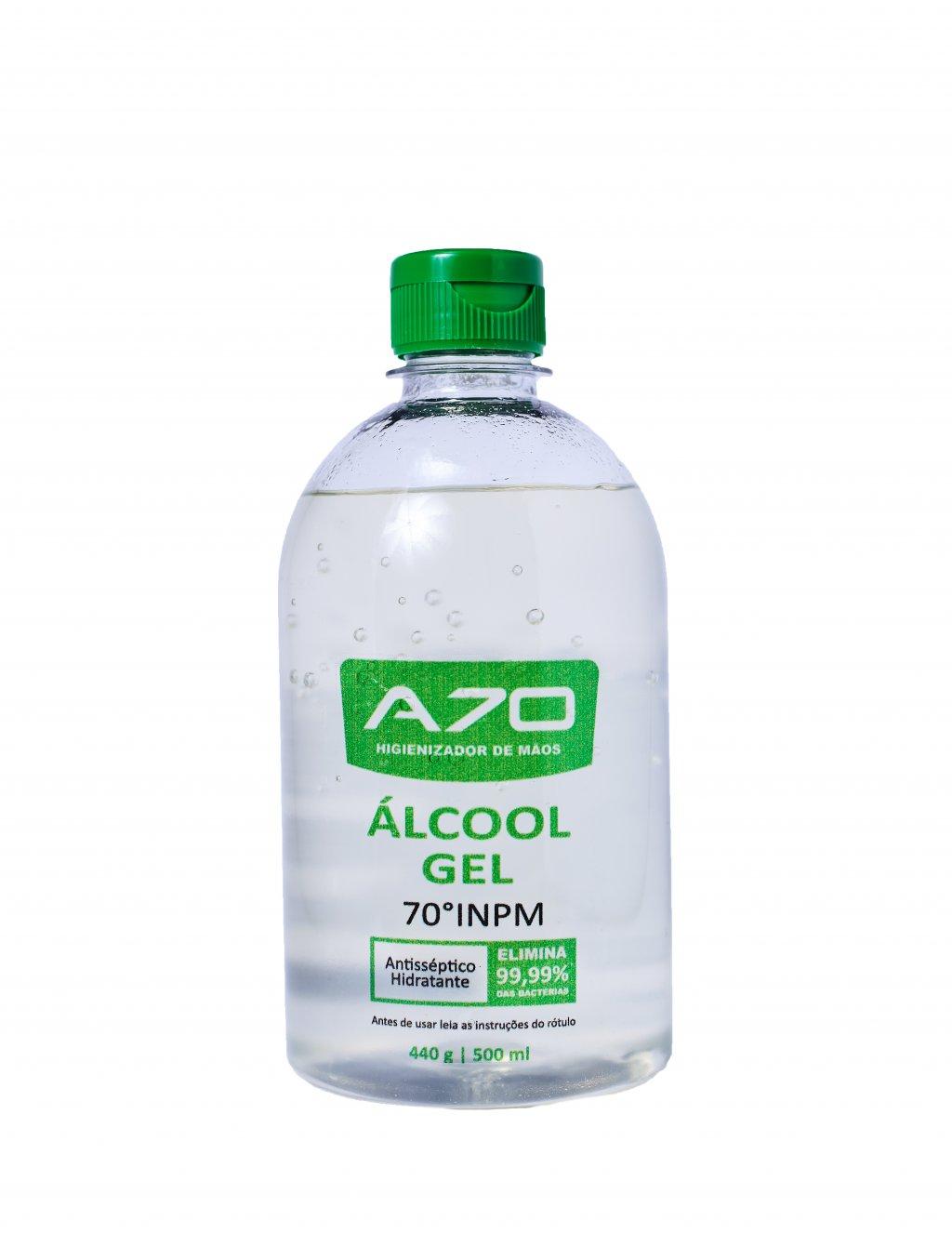 ALCOOL GEL 70% 500ML DE QUALIDADE TOP