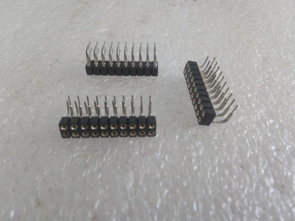 Barra De Pinos (Pin Header) 2x10 - 90º/F