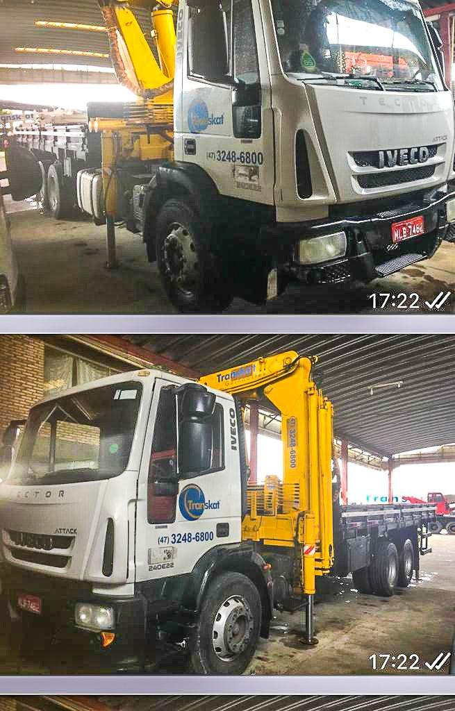 Caminhão Iveco Tractor  com Munck PHD 40007