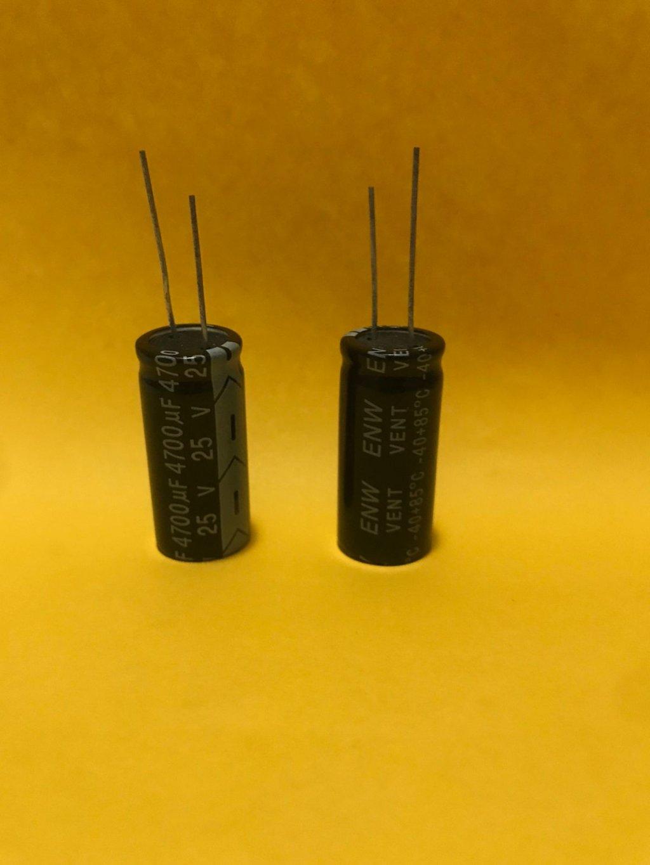 CAPACITOR ELETROLÍTICO 4700uF / 25V - 85°C