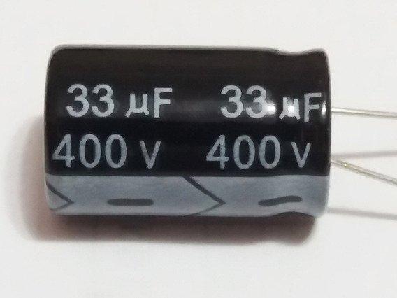 CAPACITOR ELETROLITICO EPCOS 33uf 400v