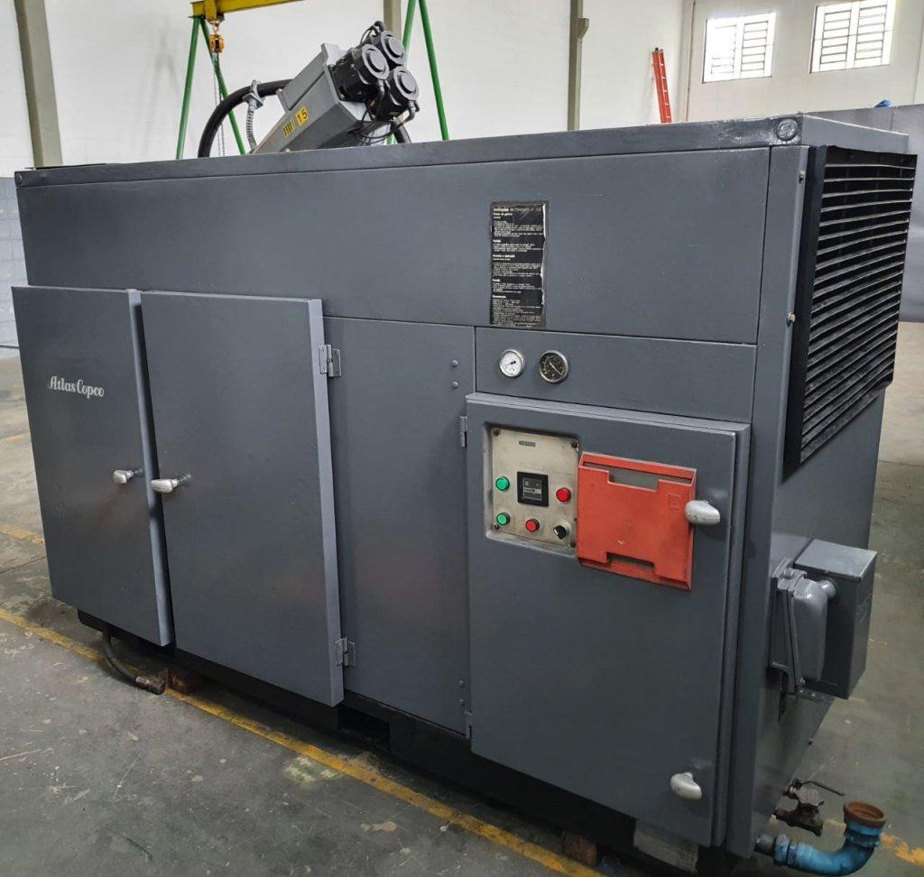 Compressor de Ar Comprimido Atlas Copco, GA 707