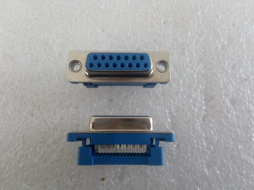 Conector Db15 - Fêmea P/flat Cable