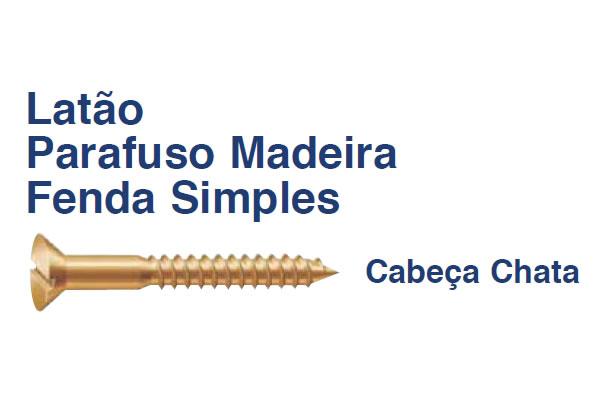 PARAFUSO MADEIRA ROSCA SOBERBA LATÇO (PA MAD RS LT 3,2x12 RI POL)