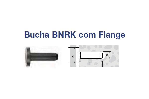 BUCHA NYLON BORGH MODELO BNRK (BU BNRK ACUSTICA EPDM/NY N.6)