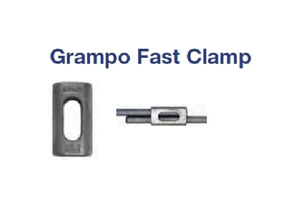 GRAMPO FAST CLAMP (GRAMPO FAST CLAMP ZAMAK M8)