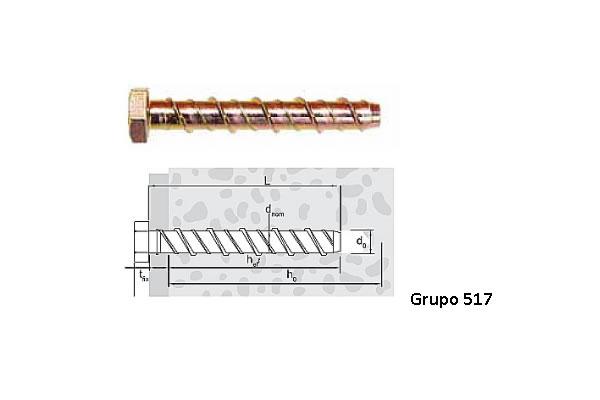 PARAFUSO Concrete Bolt Premium C25 C45 (PACCT BOLT PREMIUM C25 C45 AC