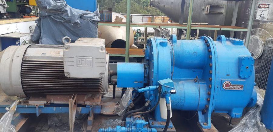 Compressor centrífugo centac 350 hp