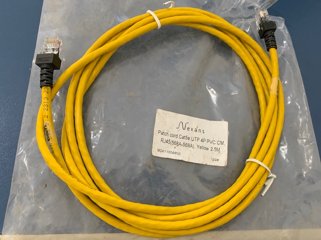 Patch cord Cat5e 2,5M