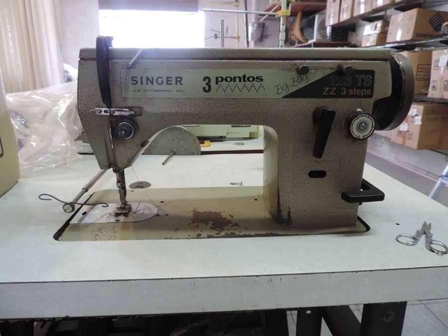 Máquina Costura Reta Singer 3 pontos