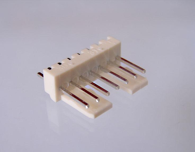 Conector Macho Solda Placa 90 - Passo 3,96mm - 12 vias