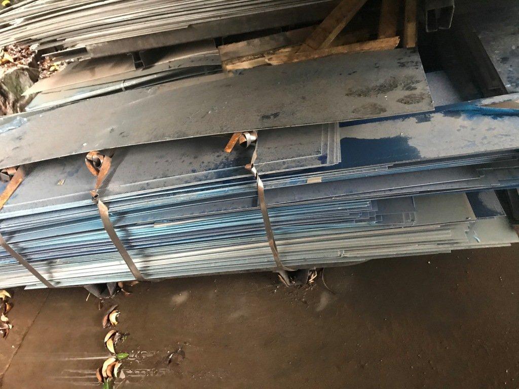 Retalho chapa de aluminio