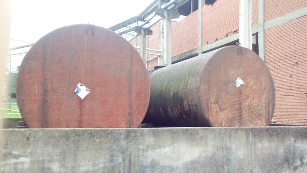 Tanque de armazenamento de BPF