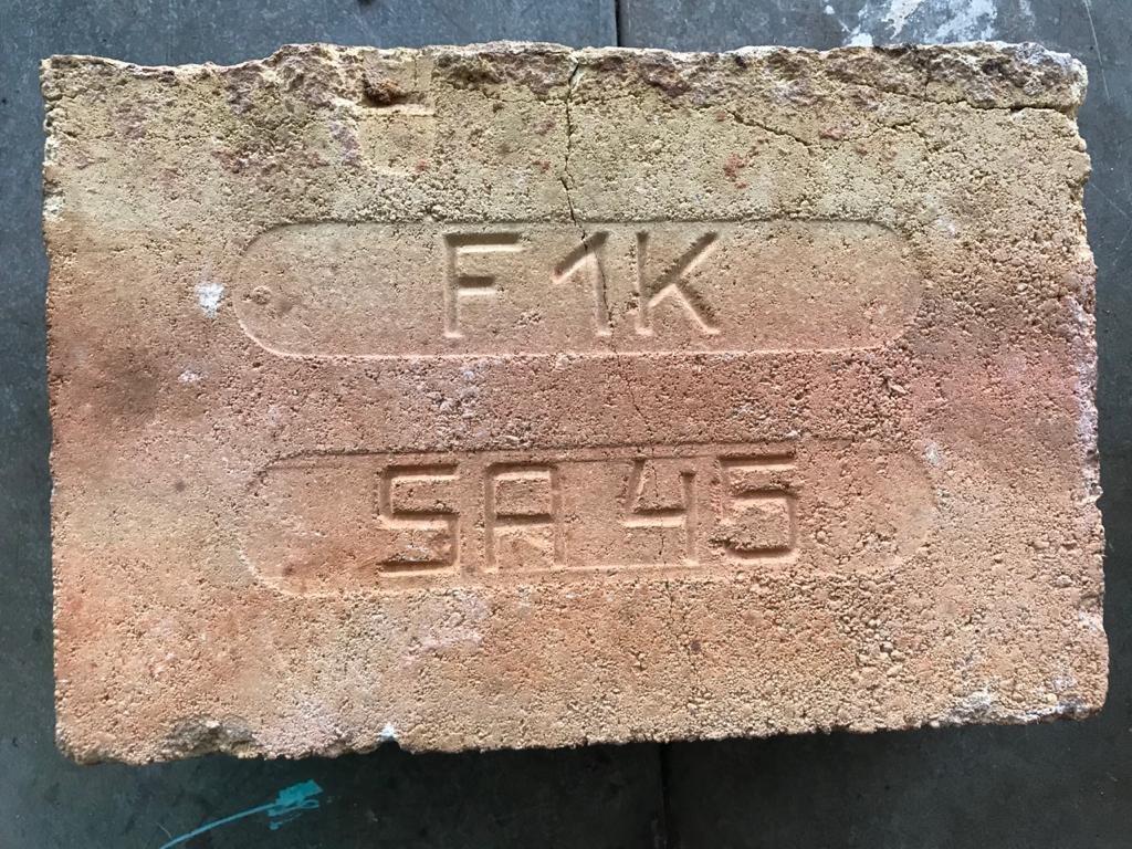 Tijolo Refratário F1K / SA45