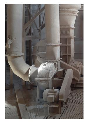 Ventlador - Marca: Boiler & Mill; Adequado a NR12: Não; Ano de Fabrica