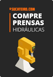 Compre prensas hidráulicas no OSucateiro.com