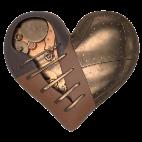 Coração de metal OSucateiro.com