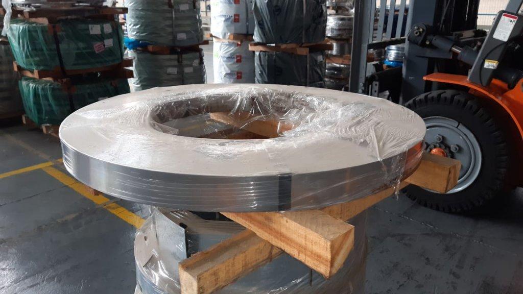 SLITTER / TIRA / BOBINA INOX AISI 430 - 0,60 x 125 mm