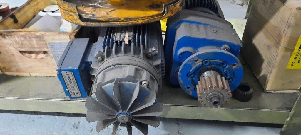 motor de ponte rolante