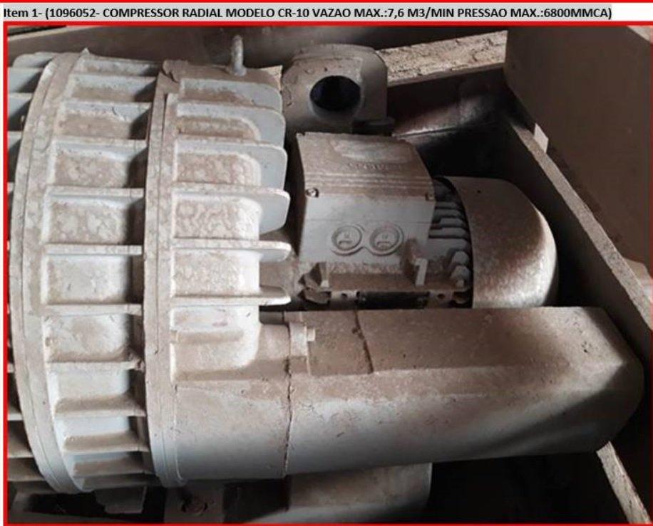COMPRESSOR RADIAL 10CV MODELO  CR-10 - IBRAM
