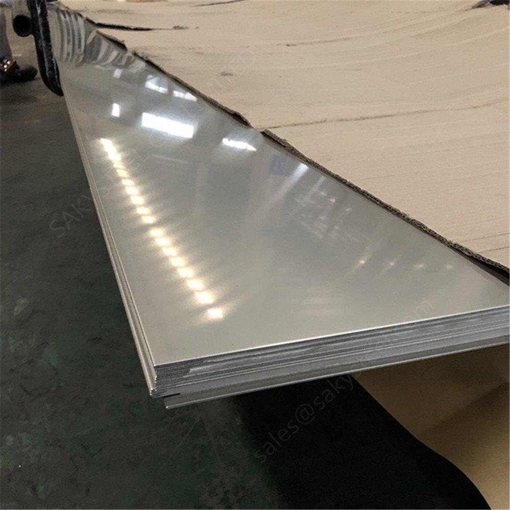 CHAPA AÇO INOX ASTM A240 304 BQ - 6,3 X 1200 X 1000mm