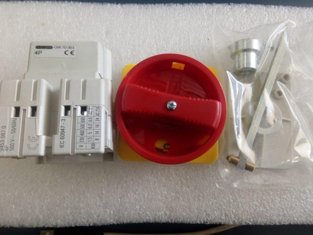 Chave Seccionadora Rotativa 16a/4p - Gewiss Gw70003