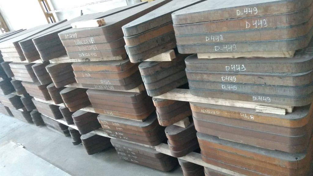 Retalho GRANDE - Aço Alta Resistência HARDOX 450 - 76,2 x 970 x 1460