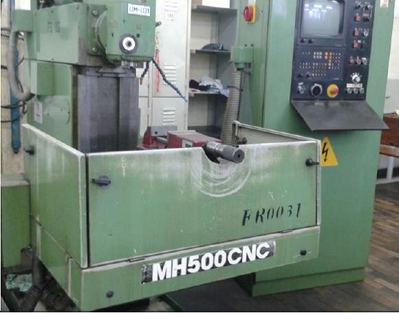 FRESADORA MH-500 CNC