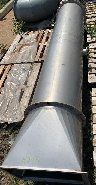 Tubo em aço inox