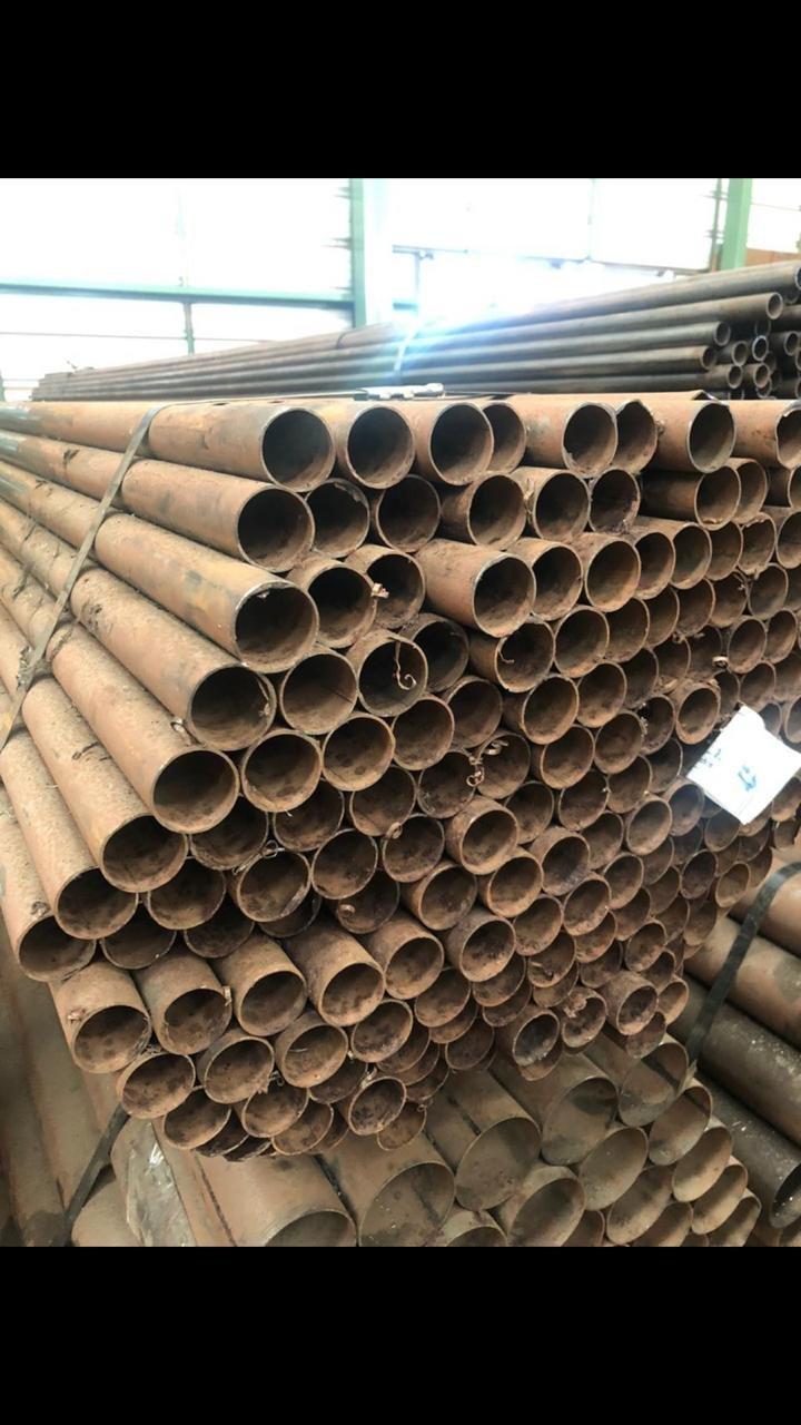 TUBO METALON - AÇO CARBONO - 34,92mm x 1,20mm x 6000mm
